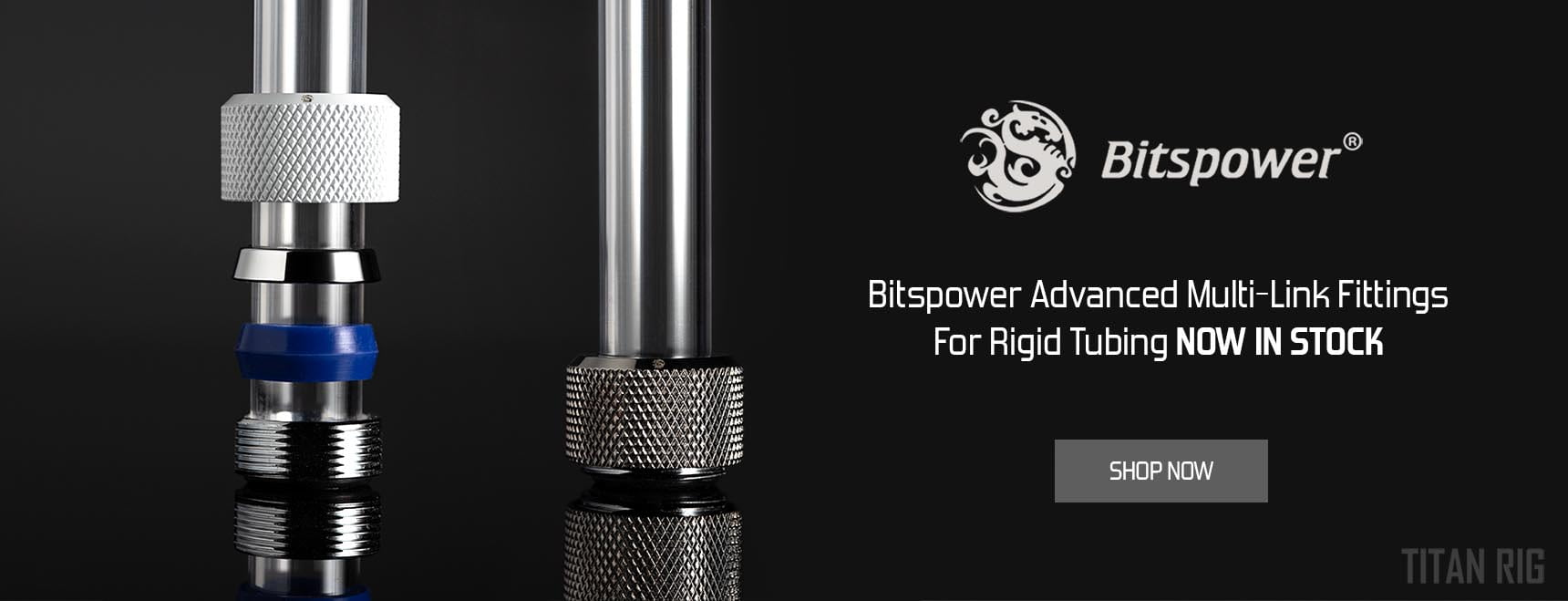 Bitspower advanced multi-link fittings for rigid tubing
