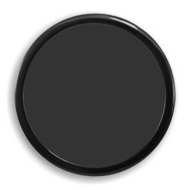 DEMCiflex Computer Dust Filter, 200mm OD Round, Black Frame / Black Mesh