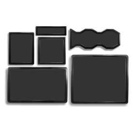 DEMCiflex Dust Filter Kit for Cooler Master HAF 932 (6 Filters), Black Frame / Black Mesh