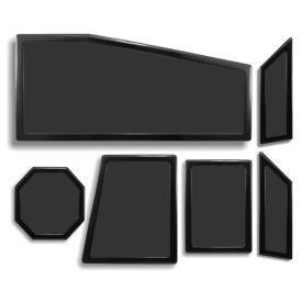 DEMCiflex Dust Filter Kit for Cooler Master Storm Trooper (6 Filters), Black Frame / Black Mesh