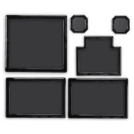 DEMCiflex Dust Filter Kit for Thermaltake Core V1, Black Frame / Black Mesh