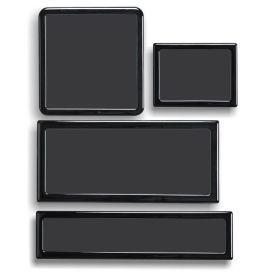 DEMCiflex Dust Filter Kit for Fractal Design Node 202, Black Frame / Black Mesh