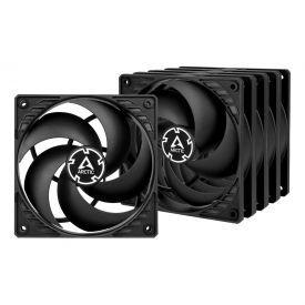 ARCTIC P12 Case Fan, 120mm, Black, 5-Pack