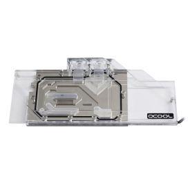 Alphacool Eisblock Aurora GPX-A GPU Water Block for AMD Radeon RX 5700/5700XT Reference, Plexi