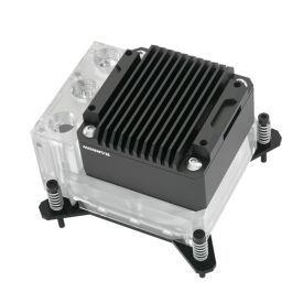 BarrowCH CPU Water Block with Integrated Pump/Reservoir, Intel, D-RGB, Nickel/Plexi