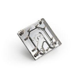Bitspower Enhance VRAM Water Block for GeForce RTX 3090 Backplate, Nickel/Plexi