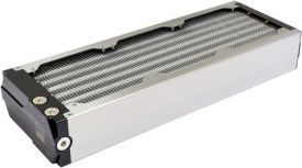 Aquacomputer Airplex Modularity System 360mm, Aluminum Fins , One Circuit, Stainless Steel