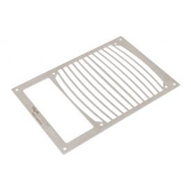 Aquacomputer 140mm Fan Mounting Bracket for Airplex Modularity System 140 with Cut-Out, Brushed Stainless Steel