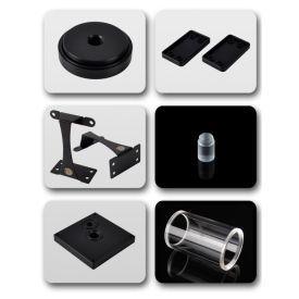 Bitspower Dual / Single D5 Top Upgrade Kit 100, Clear Tube / Black POM