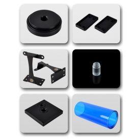 Bitspower Dual / Single D5 Top Upgrade Kit 150, ICE Blue Tube / Black POM