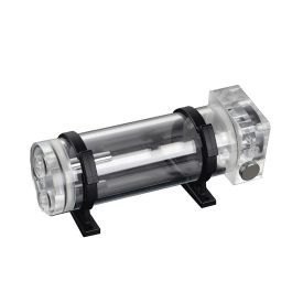 Bitspower DDC Top Water Tank Integrated Kit 150 with Z-CAP III, Clear Acrylic