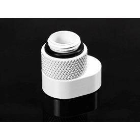 "Barrow G1/4"" 360 Degree Rotation Offset Adapter, White"