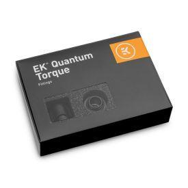"EKWB EK-Quantum Torque STC-12/16 Compression Fitting for Soft Tubing, 12/16mm (7/16"" ID, 5/8"" OD), Black, 6-pack"
