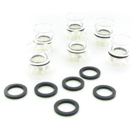 """Monsoon Hardline Fitting Conversion Kit for 1/2"""" ID, 5/8"""" OD Fittings, 6-pack"""
