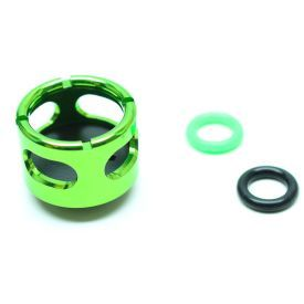 """Monsoon Free Center Stop Plug Fitting, 3/4"""" OD Size  Matched, Green"""