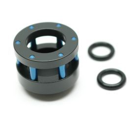 "Monsoon Chain Gun Stop Plug Fitting, 5/8"" OD Size Matched, Blue"