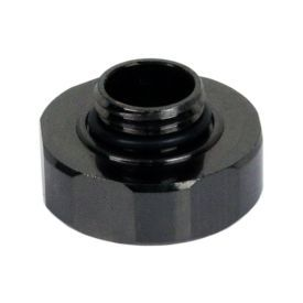 """Swiftech G1/4"""" Male End Cap for Quick Disconnect Couplings, Black Chrome"""