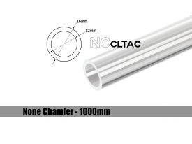 Bitspower None Chamfer Crystal Link Tube, 16mm OD, 1000mm