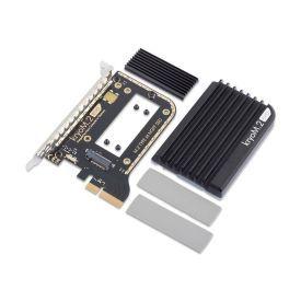 Aquacomputer KryoM.2 Evo PCIe 3.0 x4 adapter for M.2 NGFF PCIe SSD, M-Key with Passive Heatsink