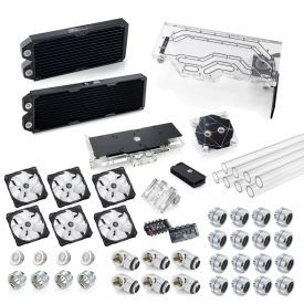 Bitspower Touchaqua Sedna PH518 Kit for Phanteks ENTHOO Evolv X Glass Case