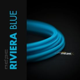MDPC-X Classic Small Cable Sleeving, Riviera-Blue, 1-Foot