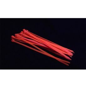 Bitspower UV-Reactive Cable Tie, UV Red, 20-pack