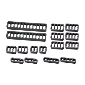 MOD-ONE Chamfered Cable Comb Kit, 16 Piece, Closed