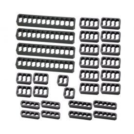 MOD-ONE Chamfered Cable Comb Kit, 30 Piece, Closed