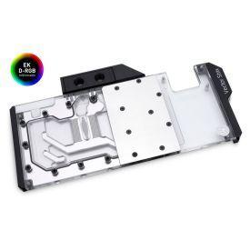 REFURBISHED - EKWB EK-Quantum Vector Strix RTX 2080 Ti GPU Waterblock, Digital RGB, Nickel/Plexi