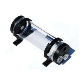 OPEN BOX - Bitspower Water Tank Z-Multi 150 V2 Reservoir, Clear Tube / Black POM
