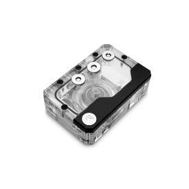 REFURBISHED - EKWB EK-Quantum Kinetic FLT 80 Pump/Reservoir Combo, D5 PWM, D-RGB, Plexi