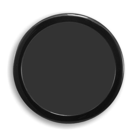 demciflex-computer-dust-filter-160mm-od-round-black-frame-black-mesh-0155df011801on