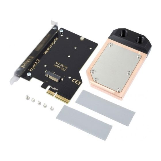 aquacomputer-kryom2-pcie-30-x4-adapter-for-m2-ngff-pcie-ssd-m-key-with-waterblock-0320ar010601on