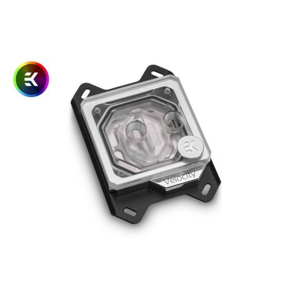 EKWB EK-Quantum Velocity CPU Water Block, AMD CPU, Digital RGB