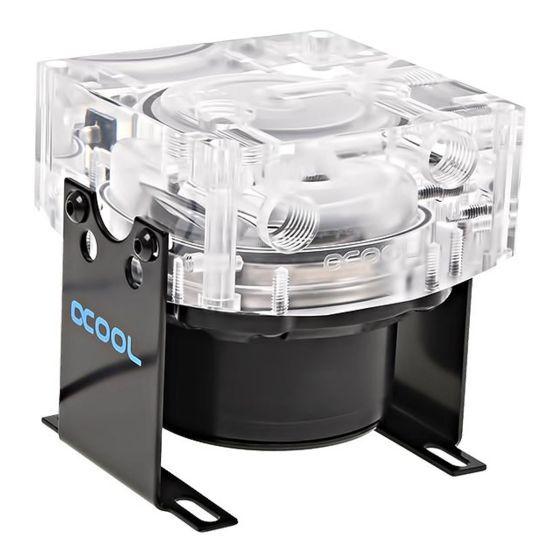 Alphacool VPP655 PWM Pump with Eisdecke Pump Top V.3