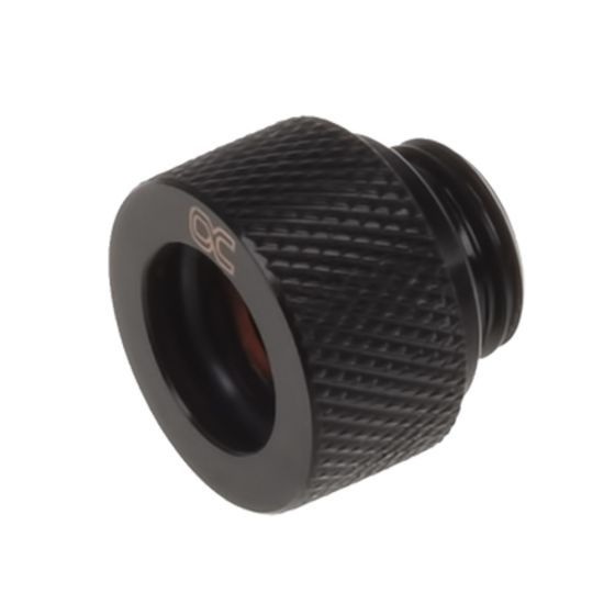 """Alphacool HT G1/4"""" Compression Fitting for Plexi (Acrylic) / Brass Hard Tubes, 12mm OD"""