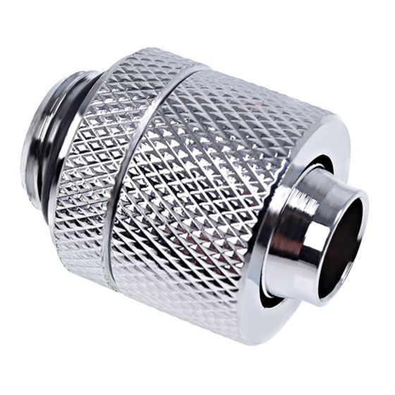 """Alphacool Eiszapfen G1/4"""" to 10mm ID, 13mm OD Compression Fitting for Soft Tubing"""