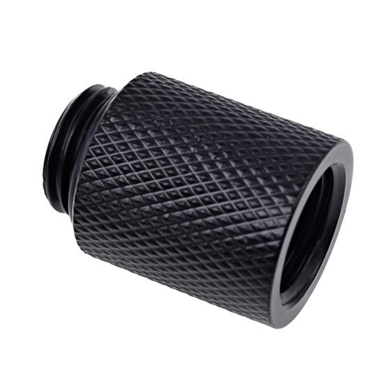 """Alphacool Eiszapfen G1/4"""" Male to Female 20mm Extender Fitting"""