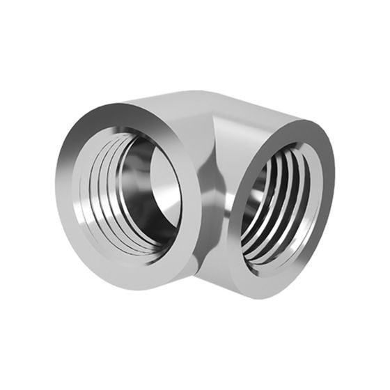 """BarrowCH G1/4"""" Female to Female 90 Degree Angle Adapter Fitting"""