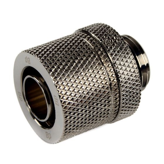 """Bitspower G1/4"""" to 3/8"""" ID, 1/2"""" OD Compression Fitting for Soft Tubing, CC2 Ultimate"""