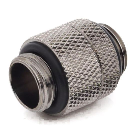 """Bitspower G1/4"""" Male to Male Extender Fitting (14mm), Rotary"""