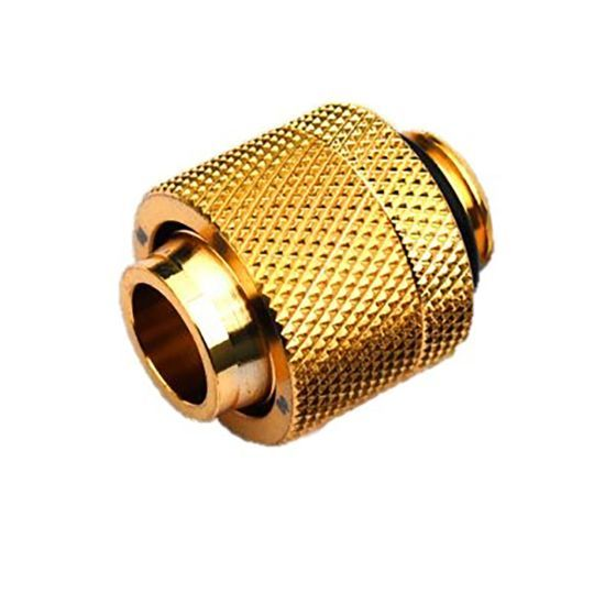 """Bitspower G1/4"""" to 1/2"""" ID, 5/8"""" OD Compression Fitting V3 for Soft Tubing"""