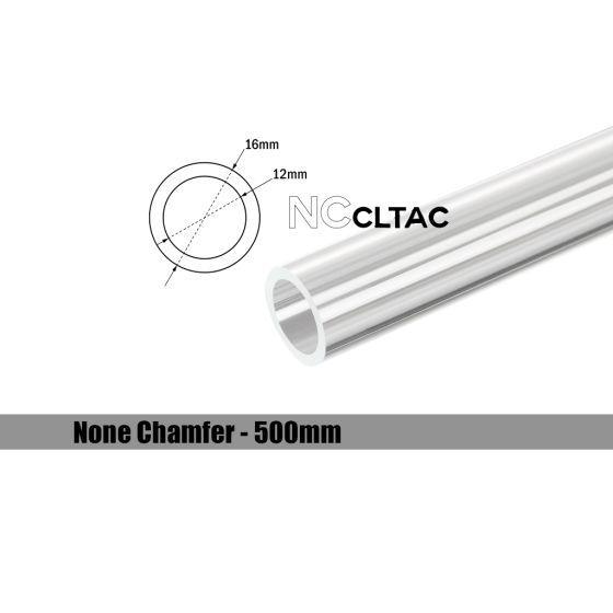 Bitspower None Chamfer Crystal Link Tube, 16mm OD, 500mm