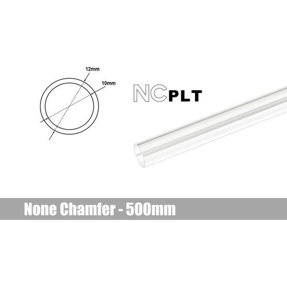 Bitspower None Chamfer PETG Link Tube, 12mm OD, 500mm