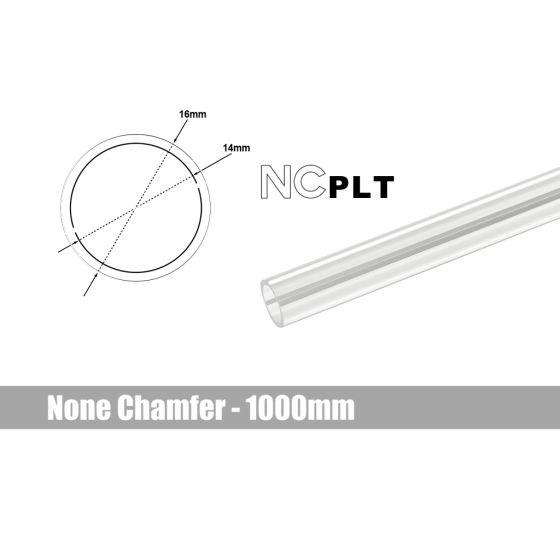 Bitspower None Chamfer PETG Link Tube, 16mm OD, 1000mm