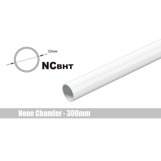 Bitspower None Chamfer Brass Link Tubing, 12mm OD (0.70mm WD), 300mm