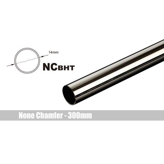 Bitspower None Chamfer Brass Link Tubing, 14mm OD (0.70mm WD), 300mm