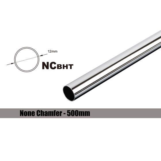 Bitspower None Chamfer Brass Link Tubing, 12mm OD (0.70mm WD), 500mm
