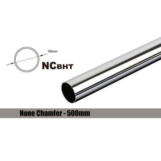 Bitspower None Chamfer Brass Link Tubing, 16mm OD (0.70mm WD), 500mm