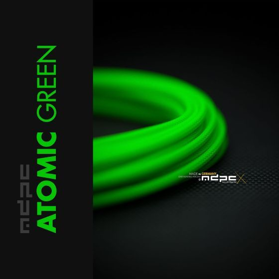 mdpc-x-classic-small-cable-sleeving-atomic-green-1-foot-0440mp010803on
